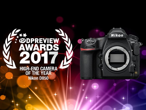 Nikon D850 Earns the Best High-End Camera of 2017 at
