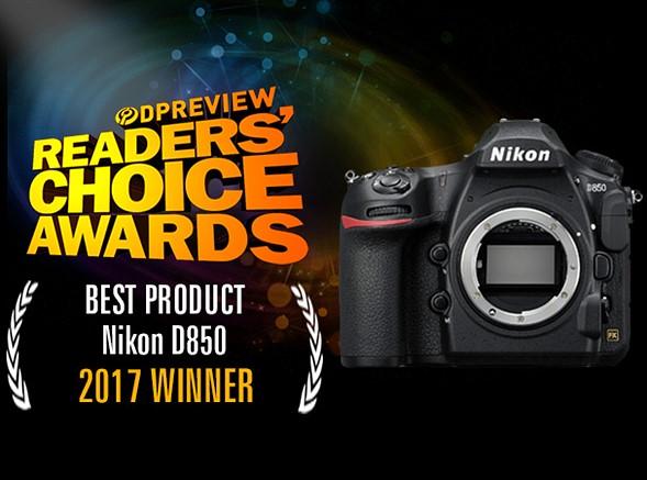 Nikon D850 Won the 2017 DPReview Reader's Choice Award