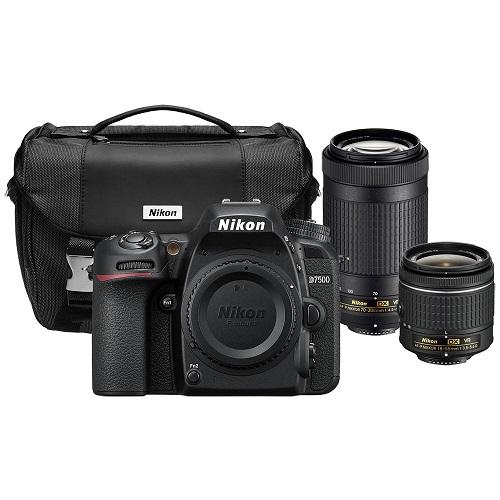 Hot Refurbished Nikon D7500 With 18 55mm Amp 70 300mm