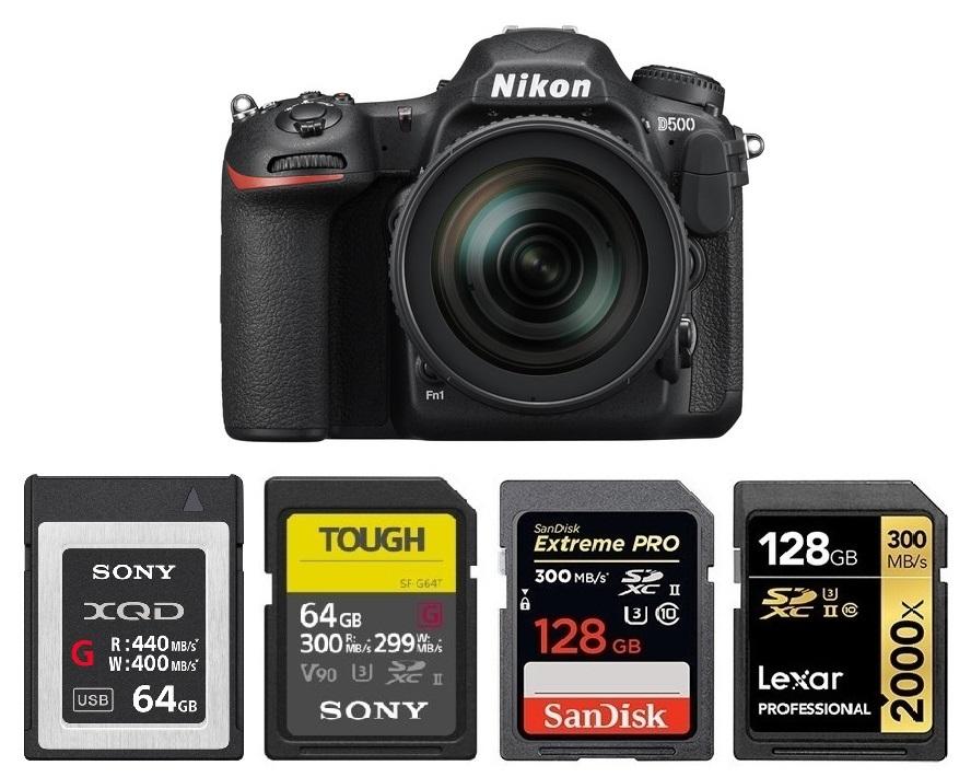 Memory Card For Nikon Z50 Camera 32GB 64GB 128GB 256GB SD